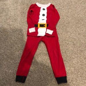 Hanna Andersson Santa Pajamas size 100cm/4t